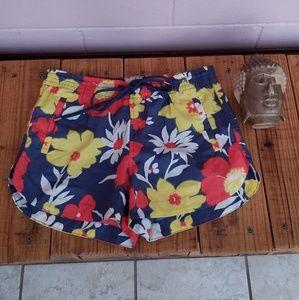j. crew • floral shorts